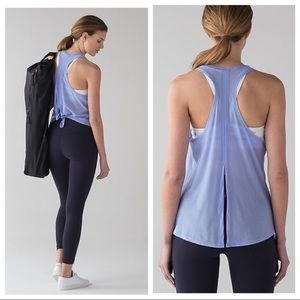 Lululemon two with one singlet